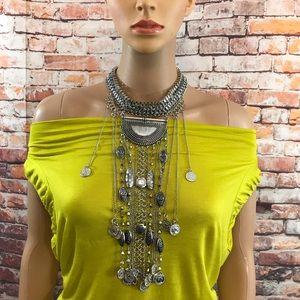 Jewelry - Legacy Statement Bib Bohemian Necklace